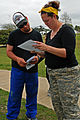 Hector Nunez, left, a recycling center supervisor and Killeen, Texas, native, who is married to U.S. Army Sgt. 1st Class Vanessa Pelasasa-Nunez, a Soldier assigned to the 1st Brigade Combat Team, 1st Cavalry 130322-A-HL390-679.jpg