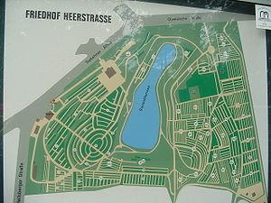 Friedhof Heerstraße - Map