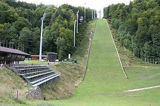 Heini-Klopfer-Skiflugschanze - Image: Heini Klopfer Schanze 006