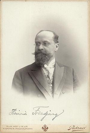 Heinrich Friedjung - Image: Heinrich Friedjung
