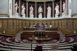 Senate (France) - Image: Hemicycle Senat France