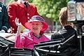 Hendes Majestæt Margrethe II, Danmarks Dronning, i Varde Kommune 02.jpg