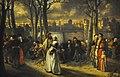 Hendrik Leys (1815-1869) Wandeling buiten de muren (Antwerpen 1854) MSK Gent 22-11-2015.JPG