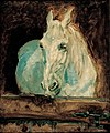 "Henri Toulouse-Lautrec - The White Horse ""Gazelle"", 1881 - Google Art Project.jpg"