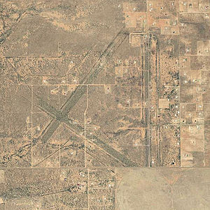 Hereford Army Airfield - 2006 USGS Orthophoto