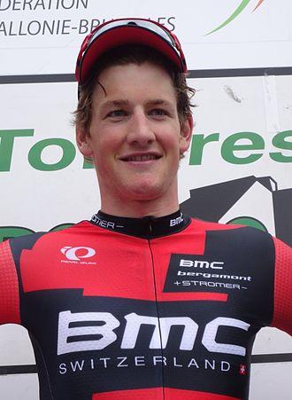 Stefan Küng - Küng after winning the 2014 Flèche Ardennaise