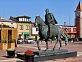 Hetman Stefan Czarniecki Monument, Plac Stefana Czarnieckiego, Warka, Poland, 2019.jpg