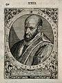 Hieronymus Mercurialis. Line engraving by T. de Bry. Wellcome V0003983.jpg