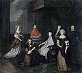 Hieronymus van Beverningk (1614-90). Nederlands buitengewoon ambassadeur, wordt in geheime audiëntie ontvangen door de Spaanse koningin-regentes Maria-Anna van Oostenrijk, 2 maart 1671 Rijksmuseum SK-A-4128.jpeg