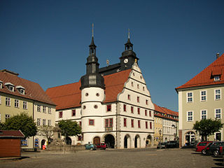 Hildburghausen Place in Thuringia, Germany