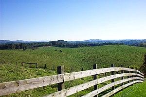 Floyd County, Virginia - Rolling hills of Floyd County.