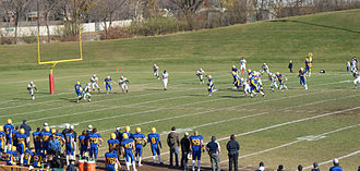 Saskatoon Hilltops - Going for Touchdown October 10, 2008 playoff game
