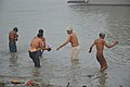 Hindu Devotees Taking Holy Dip In Ganga - Makar Sankranti Observance - Kolkata 2018-01-14 6706.JPG