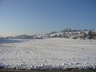 Matzingen - Fields near Hinterhalingen
