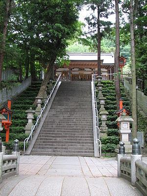 Hiraoka Shrine - Hiraoka Shrine at Osaka in Japan.