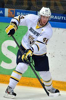 Kim Hirschovits Finnish ice hockey player