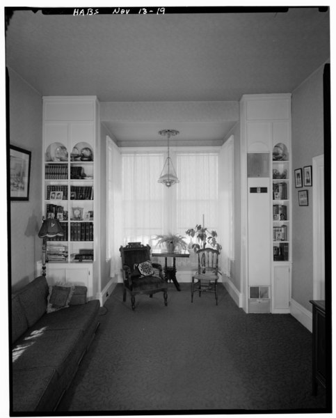 File:Historic American Buildings Survey Aaron A. Gallup, Photographer, November, 1972 PARLOR, LOOKING NORTH - David Smaill House, 313 West Ann Street, Carson City, Carson City, NV HABS NEV,13-CARCI,18-5.tif