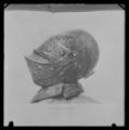 Hjälm med kam till paradrustning som tillhört Erik XIV - Livrustkammaren - 53712.tif