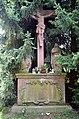 Hofheim, Waldfriedhof, Kreuzigungsgruppe.JPG