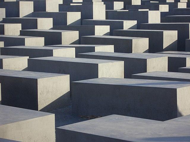 Mémorial de l'holocauste de Berlin.