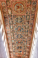 Painted ceiling of St. Michael's Church, Hildesheim