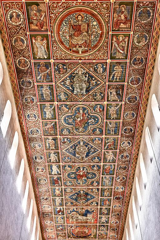 Holzdecke der Michaelis Kirche in Hildesheim