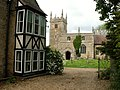 Honington Church of St Wilfrid and vicarage, Lincolnshire, England.jpg