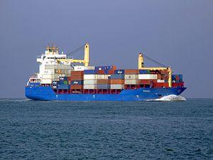 Hooge - IMO 9301122 -approaching Port of Rotterdan, Holland.JPG