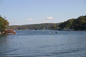 Hopatcong, New Jersey - Lake Hopatcong as seen from Hopatcong Borough.