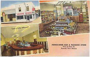 Horse-Shoe Bar and Package Store, First and Ma...