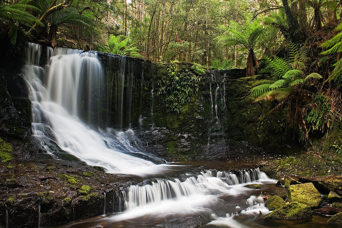 Chutes Horseshoe Tasmanie Wikip 233 Dia