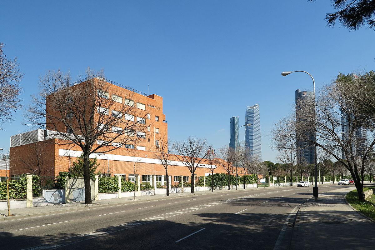 Hospital carlos iii wikipedia la enciclopedia libre - Hospital de la paz como llegar ...