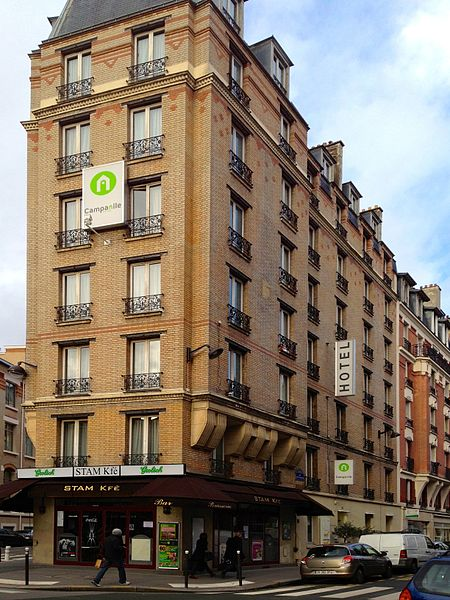 Hotel Campanile Paris Montparnabe