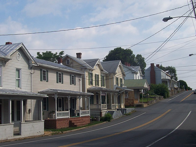File:Houses in Mount Crawford, Virginia.jpg