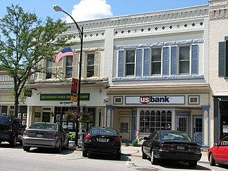 Hudson, Ohio - Howard Hanna and US Bank