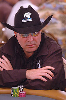 Hoyt Corkins American poker player