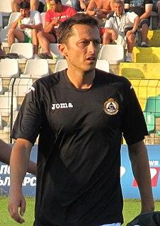 Hristo Yanev Bulgarian footballer and manager