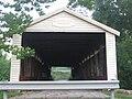 Huffman Mill Covered Bridge, north portal.jpg