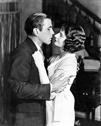 Bogart and Shirley Booth in Hell's Bells, 1925 Humphrey Bogart & Shirley Booth Hell's Bells 1925.jpg