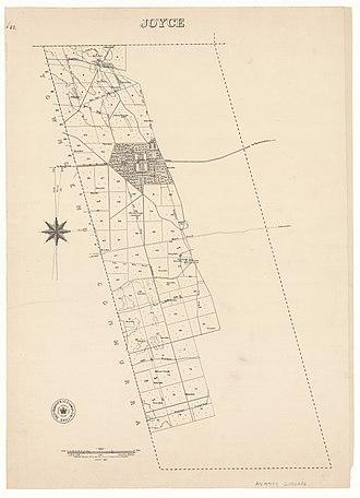 Lucindale, South Australia - Hundred of Joyce, 1880.