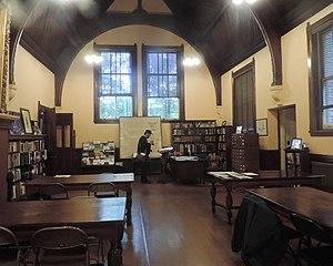 Huntington Free Library and Reading Room - Reading room