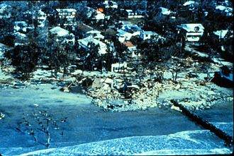 Hurricane Hugo - Hugo proved to be devastating to beachfront property