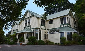 Normandale, New Zealand - The front of Minoh Friendship House
