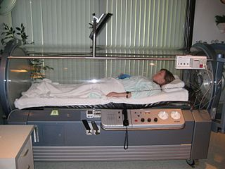 Hyperbaric medicine Medical treatment in which an ambient pressure greater than sea level atmospheric pressure is a necessary component