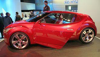 Hyundai Veloster - Hyundai HND-3 concept