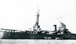 Japanese cruiser Kashima - Image: IJN Kashima 1940 at Shanghai