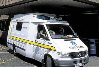 West Yorkshire Metropolitan Ambulance Service - Image: IL ambulance
