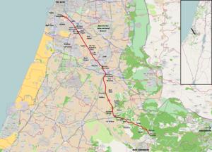 Highway 44 (Israel) - Image: I Lroute 44