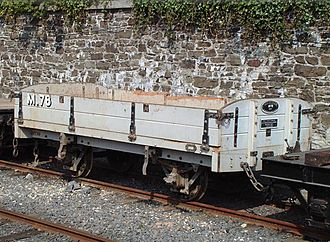 Isle of Man Steam Railway Supporters' Association - Wagon M.78 Built 1998