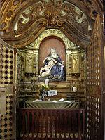 Capela de N. S. das Dores, Matriz de Santo Ant�nio, Recife, com bilhetes e ex-votos deixados pelos fi�is